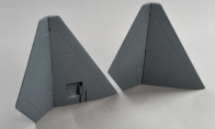 Vertical Stab Set for BlitzRCWorks 7 CH YF-23 RC EDF Jet