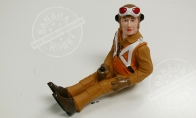 Warbird Pilot Figure for BlitzRCWorks 8 CH F4F Wildcat RC Warbird Airplane