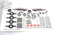 Water Decal Sheet for BlitzRCWorks 8 CH Super A-10 Warthog Thunderbolt II RC EDF Jet