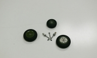 Wheel Set for BlitzRCWorks 7 CH YF-23 RC EDF Jet