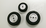 Wheel Set for HSDJETS 6 CH Silver Viper Pro 90mm RC EDF Jet
