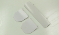 White Gear Door Set for HSDJETS 6 CH Red Checker Viper Pro 90mm RC EDF Jet