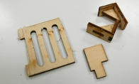 Wooden Part Set for HSDJETS 6 CH Banana Hobby Viper Pro 90mm RC EDF Jet