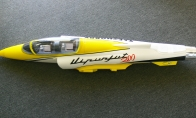 Yellow Fuselage for Taft Hobby 6 CH Yellow Viper 90mm RC EDF Jet