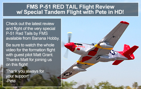 Featured RC Airplane - P-51